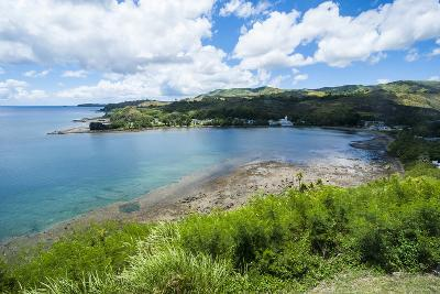 View from Fort Soledad over Utamac Bay in Guam, Us Territory, Central Pacific, Pacific-Michael Runkel-Photographic Print