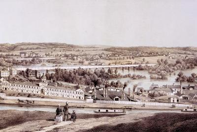 View from Gamble's Hill, Richmond, Virginia, from 'Album of Virginia', 1858-Edward Beyer-Giclee Print