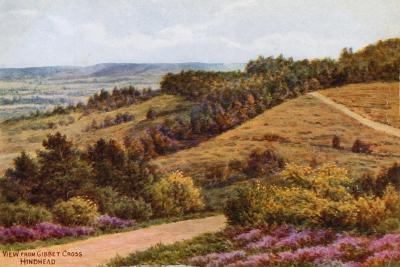 View from Gibbet Cross, Hindhead-Alfred Robert Quinton-Giclee Print