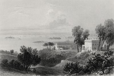 View from Gowanus Heights, Brooklyn-William Henry Bartlett-Giclee Print