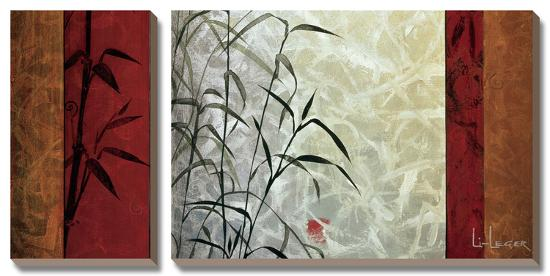 View From Huang Shan-Don Li-Leger-Canvas Art Set