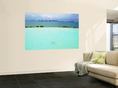 View from Infinity Pool at Six Senses Destination Spa Phuket-Christian Aslund-Wall Mural