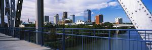 View from Junction Bridge Pedestrian Walkway, Little Rock, Arkansas, USA