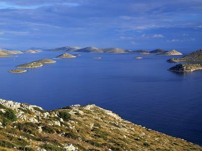 View from Levrnaka Island to the South, Kornati National Park, Croatia, May 2009-Popp-Hackner-Photographic Print