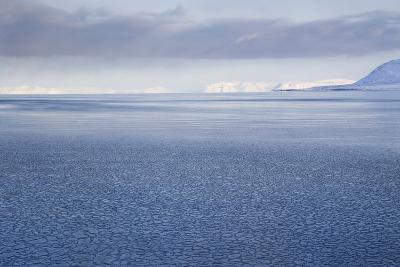 View from Longyearbyen to Adventfjorden Fjord-Stephen Studd-Photographic Print