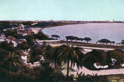 View from Malabar Hill, Bombay, India, Early 20th Century--Giclee Print