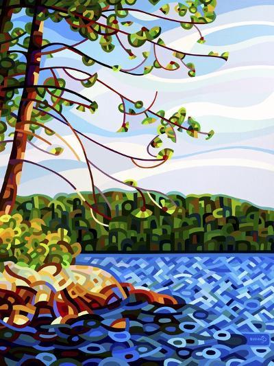 View from Mazengah-Mandy Budan-Giclee Print