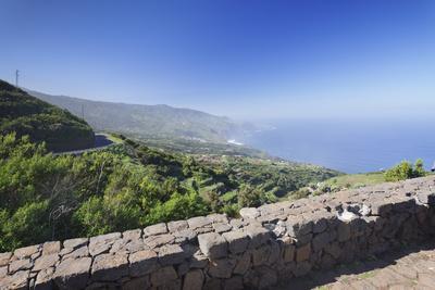 View from Mirador De La Tosca over the North Coast, Barlovento, Canary Islands-Markus Lange-Photographic Print