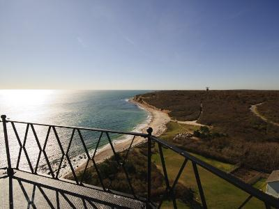 View from Montauk Point Lighthouse, Montauk, Long Island, New York State, USA-Robert Harding-Photographic Print
