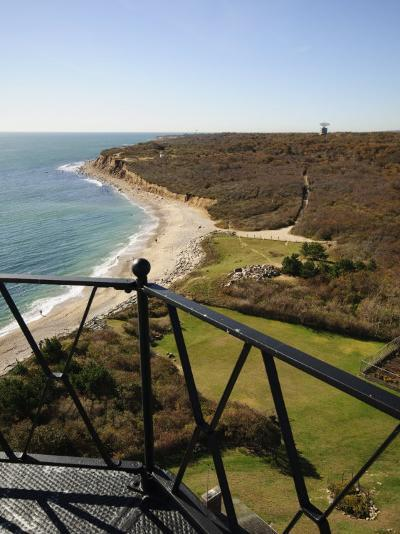 View from Montauk Point Lighthouse, Montauk, Long Island, New York State, USA-Robert Harding-Photographic Print