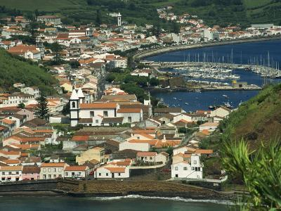 View from Monte De Guia of Horta, Faial, Azores, Portugal, Atlantic, Europe-Ken Gillham-Photographic Print
