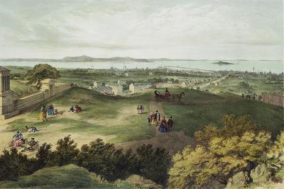 View from Nelson's Monument, Edinburgh, Looking North--Giclee Print