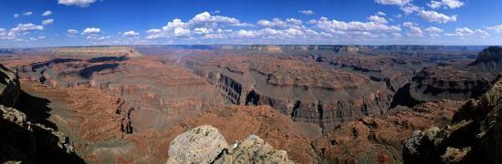 View from North Rim, Grand Canyon National Park, Arizona, USA--Photographic Print