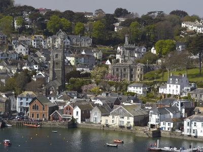 View from Penleath Point, Fowey, Cornwall, England, United Kingdom, Europe-Rob Cousins-Photographic Print