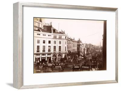 View from Piccadilly Circus Down Lower Regent Street, London, C.1885