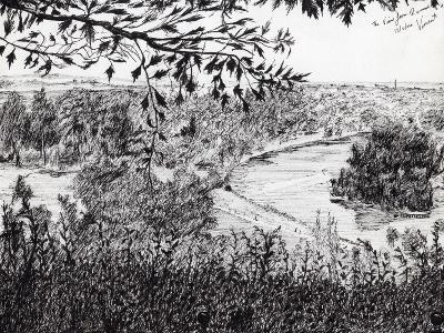 View from Ruchmond Hill, 2004-Vincent Alexander Booth-Giclee Print