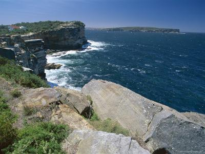 View from South Head Towards North Head at the Entrance to Sydney Harbour-Robert Francis-Photographic Print