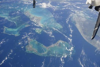 View from Space Featuring the Bahama Islands and Part of Peninsular Florida--Photographic Print