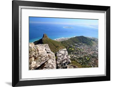 View from Table Mountain, Cape Town, South Africa-Renee Vititoe-Framed Photographic Print