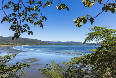 View from Tambor across Ballena Bay Towards Pochote on Southern Tip of Nicoya Peninsula, Costa Rica-Rob Francis-Photographic Print