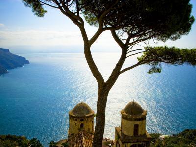 View from the 13th Century Villa Rufolo in Ravello, Amalfi Coast-Glenn Beanland-Photographic Print