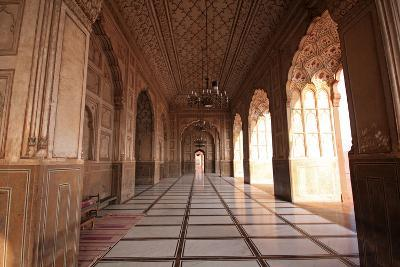 View from the Arch of Badshahi Masjid, Lahore, Pakistan-Yasir Nisar-Photographic Print
