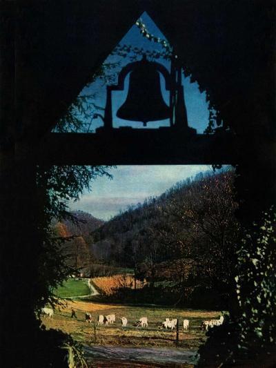 """View from the Belltower,""November 1, 1948-Arthur Dodd-Giclee Print"