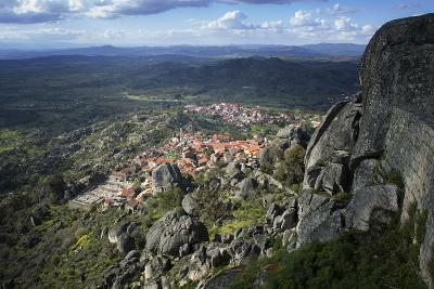 View from the Castle of the Medieval Village of Monsanto in the Municipality of Idanha-A-Nova-Alex Robinson-Photographic Print