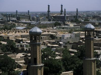 View from the Citadel with the Friday Mosque in the Background, Herat, Afghanistan-Jane Sweeney-Photographic Print