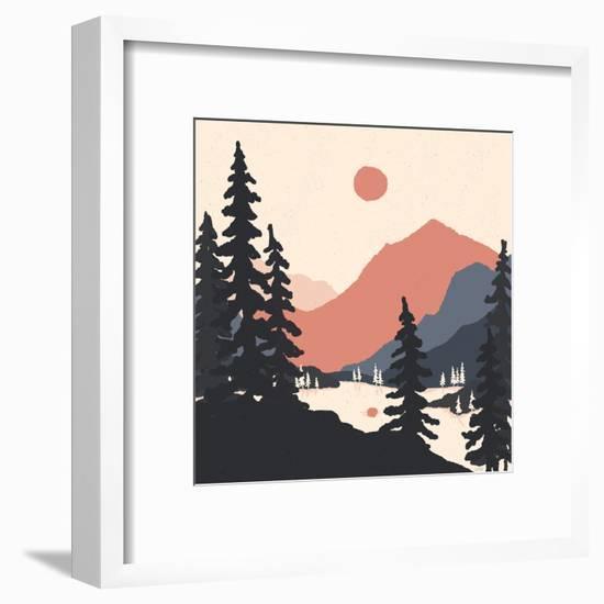 View From The East Shore-NDTank-Framed Art Print