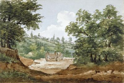 View from the Excavations of Highgate Tunnel, London, 1812-George Arnald-Giclee Print
