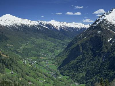 View from the Grossglockner Road, Hohe Tauren National Park Region, Austria, Europe-Gavin Hellier-Photographic Print