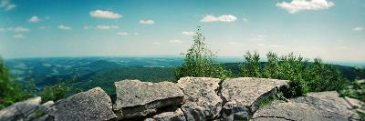 View from the Pinnacle of the Appalachian Trail, Blue Mountain, Appalachian Mountains--Photographic Print