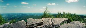 View from the Pinnacle of the Appalachian Trail, Blue Mountain, Appalachian Mountains