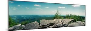 View from the Pinnacle of the Appalachian Trail, Blue Mountain, Appalachian Mountains