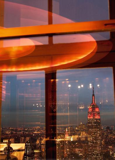 View From The Rainbow Room, New York City-Jon Arnold-Art Print