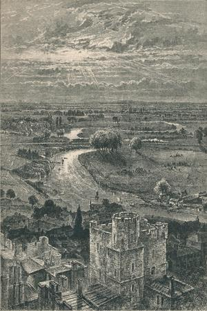'View from the Round Tower', 1895-Unknown-Framed Giclee Print