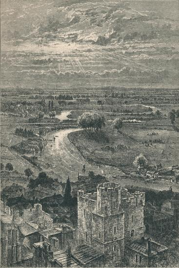 'View from the Round Tower', 1895-Unknown-Giclee Print