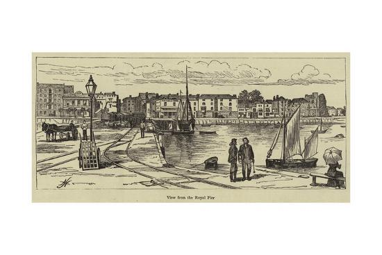 View from the Royal Pier--Giclee Print