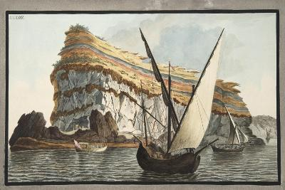 View from the Sea of the Promontory-Pietro Fabris-Giclee Print