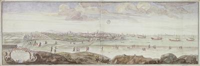 View from the Side of the Infirmary, Marseille, 1698--Giclee Print