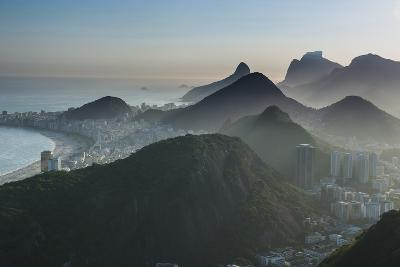 View from the Sugarloaf, Rio De Janeiro, Brazil, South America-Michael Runkel-Photographic Print