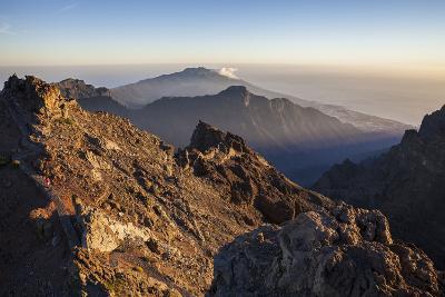 View from the Summit Roque De Los Muchachos, Caldera De Taburiente Mountains-Gerhard Wild-Photographic Print