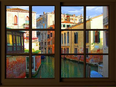 View from the Window at Venice-Anna Siena-Giclee Print