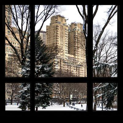 View from the Window - Central Park Buildings-Philippe Hugonnard-Photographic Print