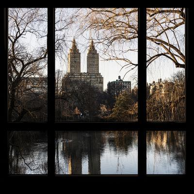 View from the Window - Central Park in Autumn-Philippe Hugonnard-Photographic Print