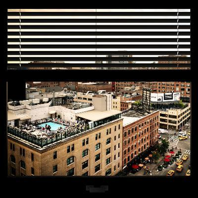 View from the Window - Chelsea Buildings - Manhattan-Philippe Hugonnard-Photographic Print