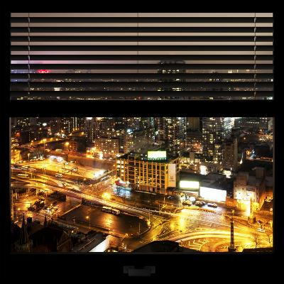 View from the Window - Downtown Manhattan-Philippe Hugonnard-Photographic Print