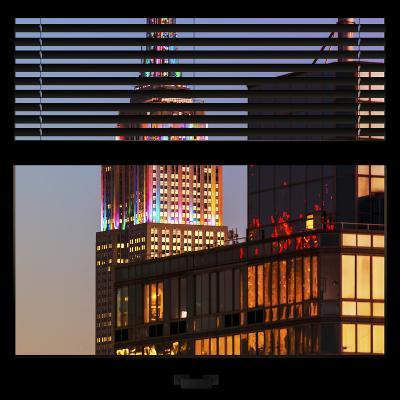 View from the Window - Empire State Building-Philippe Hugonnard-Photographic Print