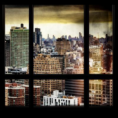 View from the Window - Hell's Kitchen - NYC-Philippe Hugonnard-Photographic Print